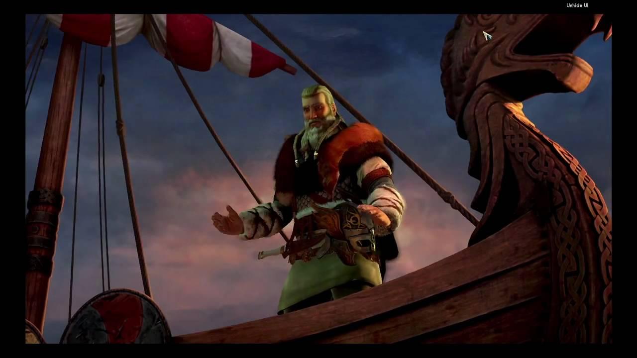 Civilization V   Denmark - The Vikings DLC gameplay trailer (2011)