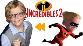 """""""Incredibles 2"""" (2018) Voice Actors and Characters [QUICKIE]"""