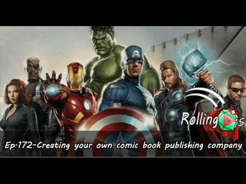 The Rolling 20s Ep.172-Creating your own comic book publishing company