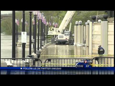 Georgetown Waterfront Floods, Buildings Evacuated