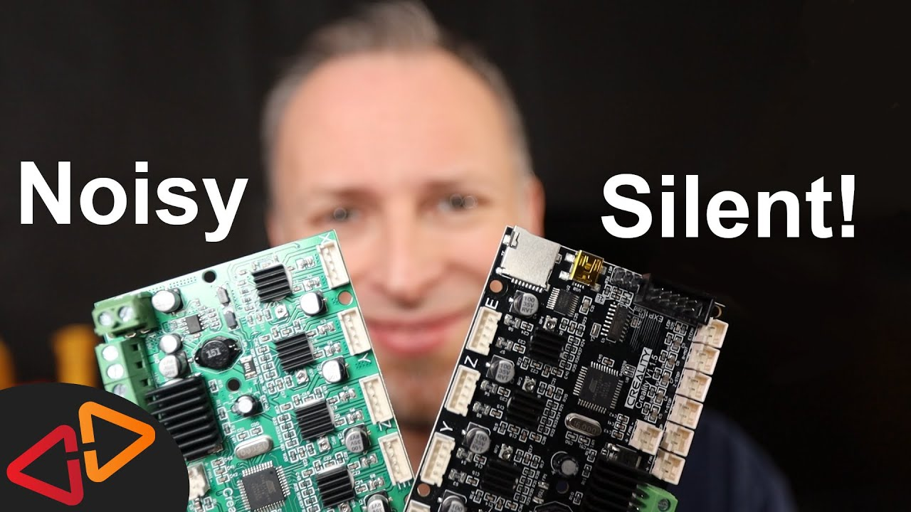 Ender 3 Silent Mainboard 1 1 5 By Creality Youtube