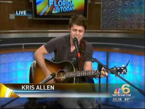 Kris Allen   Like Were Dying Acoustic
