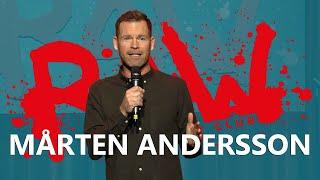 MÅRTEN ANDERSSON - Arga snickarn och förbannade Kirunabor | RAW COMEDY CLUB