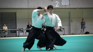 Mitsuteru Ueshiba Dojo-cho - Demonstration - 12th International Aikido Federation Congress (2016)