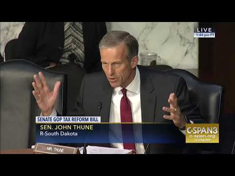 Thune Opening Statement in Tax Reform Markup