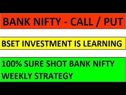 Strategy call put option nifty
