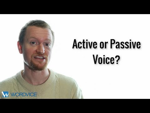 Should I Use Active or Passive Voice in a Research Paper?