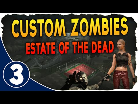 Custom Zombies: Estate of the Dead Ep.3 - ROOFTOP! w/Jassen & Tact (World at War)