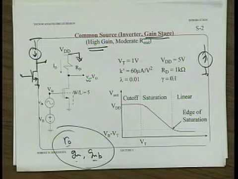 Analog Integrated Circuits (UC Berkeley) Lecture 4