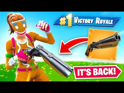 The Double Barrel Shotgun is Back! (Unvaulted)
