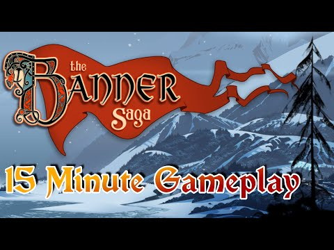 The Banner Saga   15 Minute Gameplay   Game Tryouts  