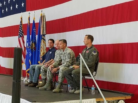 Send-off Ceremony for the 115th Fighter Wing