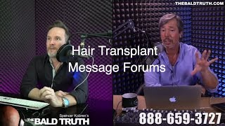 The Bald Truth-Tuesday July 10th, 2018-Hair Transplants, Neograft, Dr. Yates, Arkansas