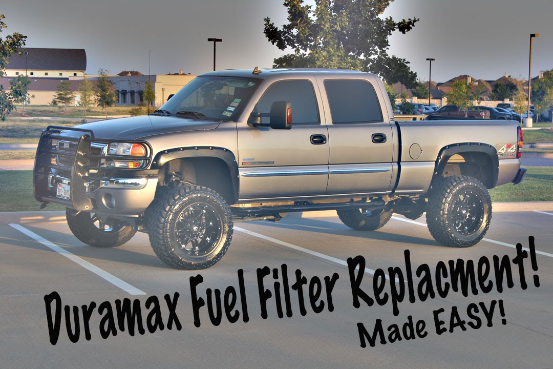 Easy Duramax Fuel Filter Replacement! - YouTube
