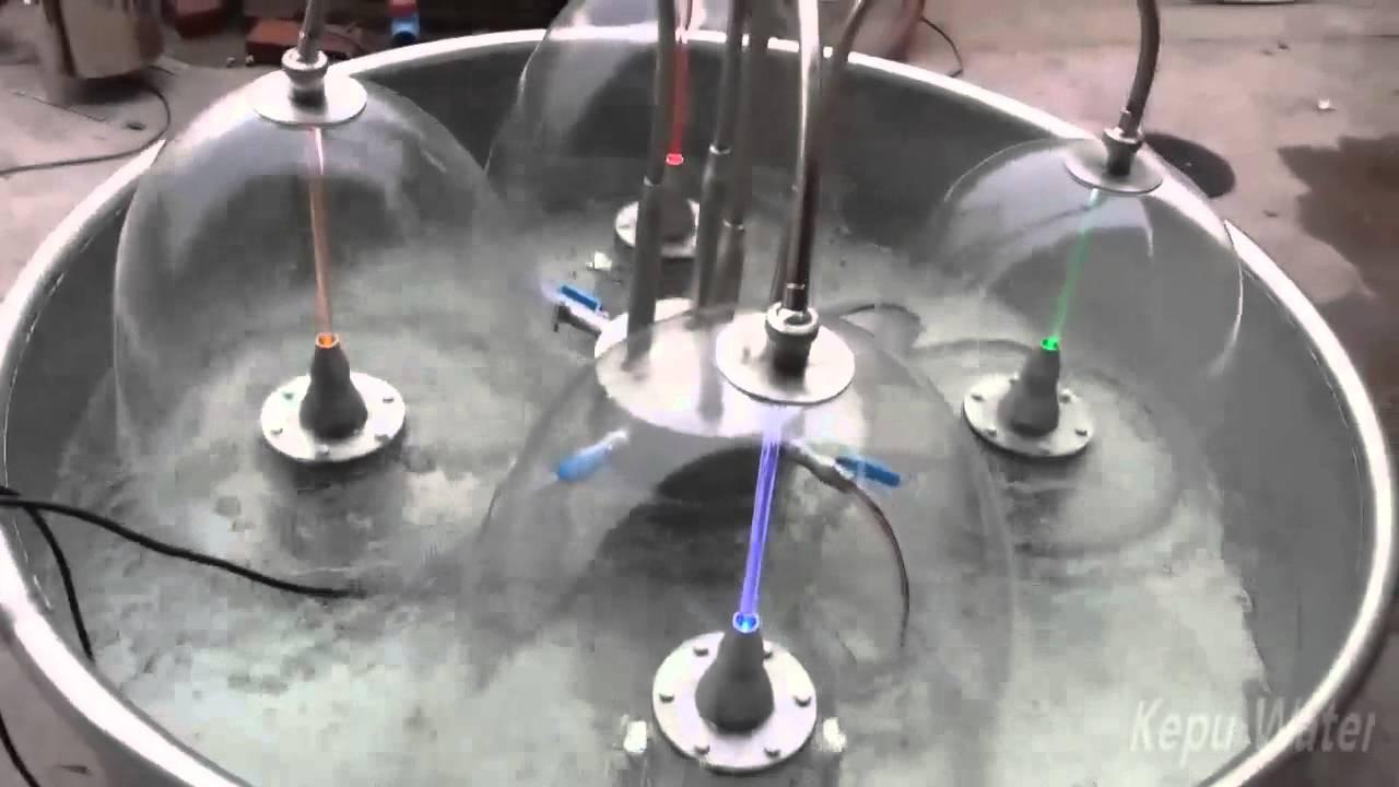 Laminar mushroom fountain nozzle youtube for Swimming pool fountain nozzles