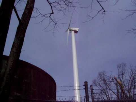 Community Wind Power Northwind 100 kilowatt turbine Screaming Weasel in Western North Carolina