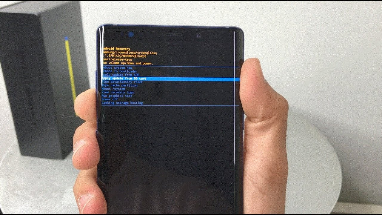 How To Factory Reset Samsung Galaxy Note 22 - Hard Reset