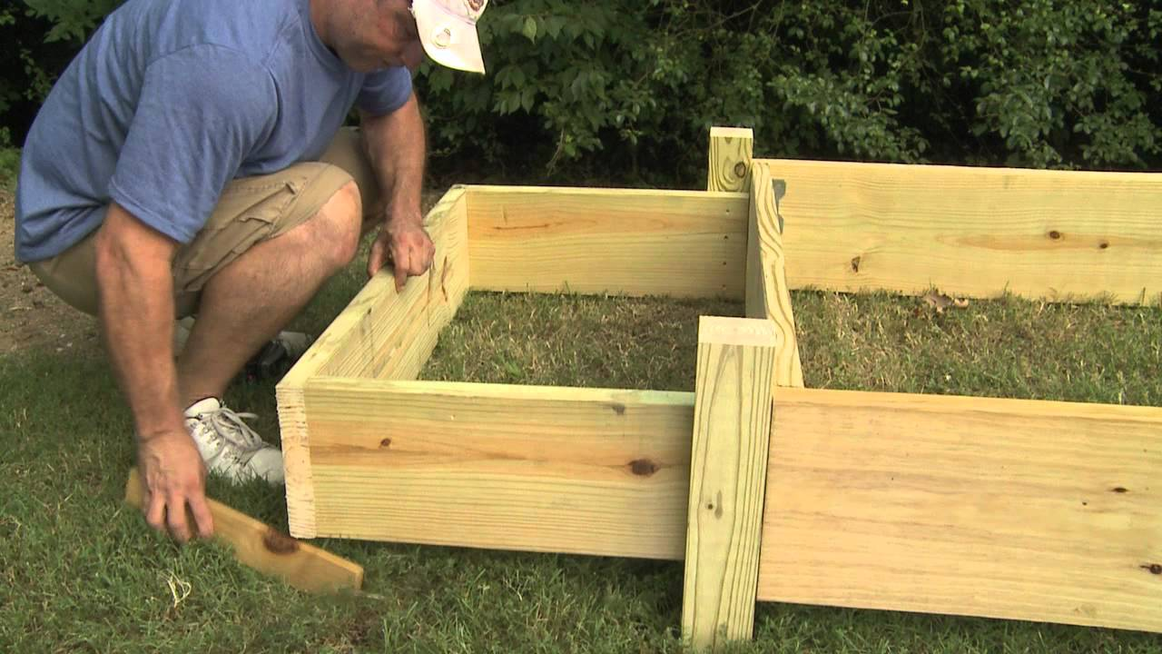 Pine Raised Beds - Garden Inspiration