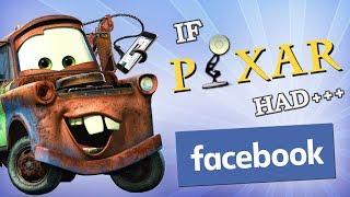IF DISNEY HAD FACEBOOK: PIXAR EDITION