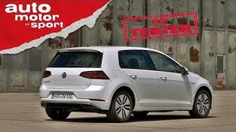 VW e-Golf: Ist er der beste Golf? Test/Review | auto motor und sport