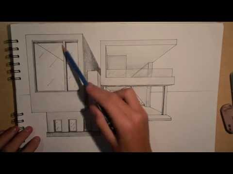 ARCHITECTURE | DESIGN #2: DRAWING A MODERN...