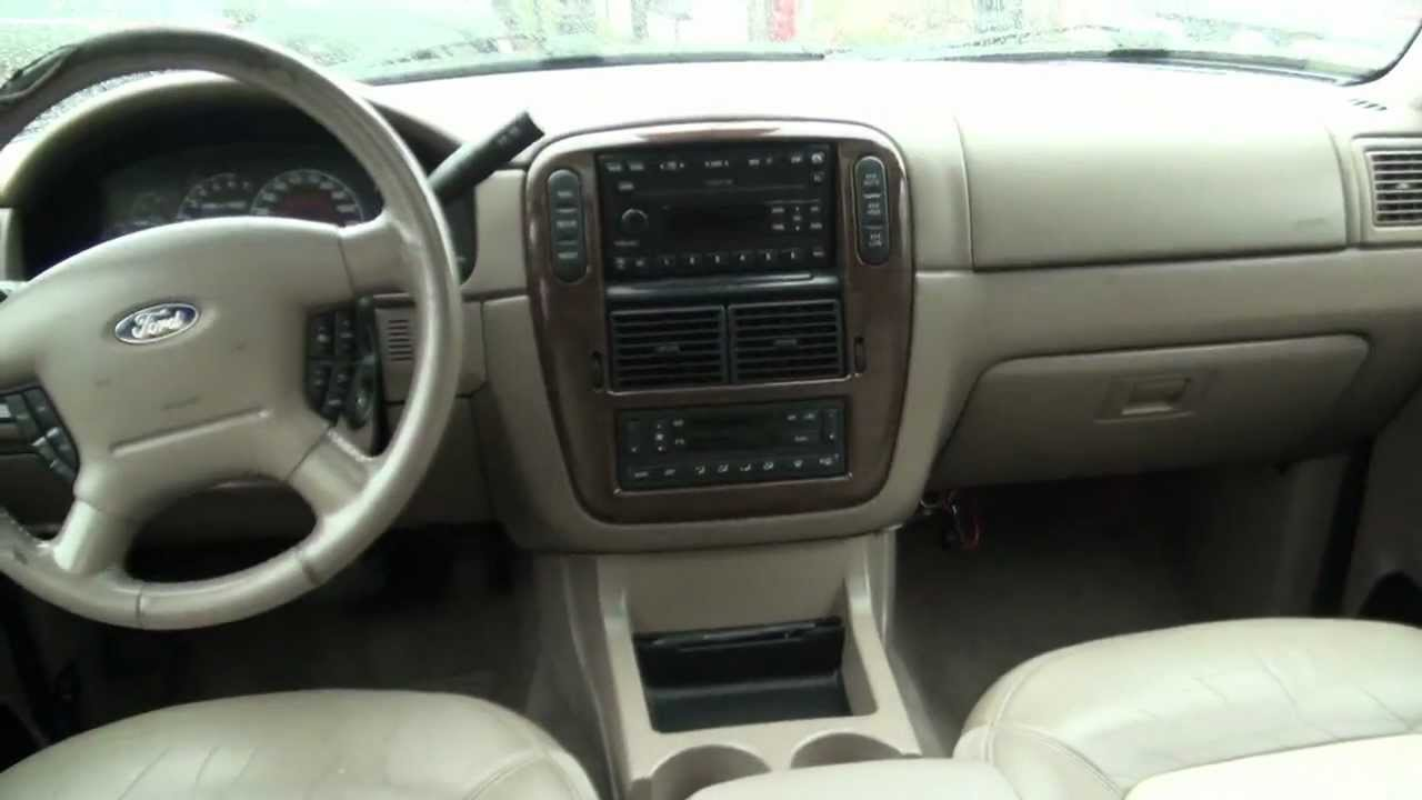 2002 ford explorer eddie bauer xlt v8 4wd youtube - 2005 Ford Explorer Interior