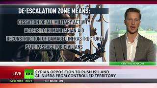 Syria's New De Escalation Zone  What does it mean for troops, rebels & citizens?