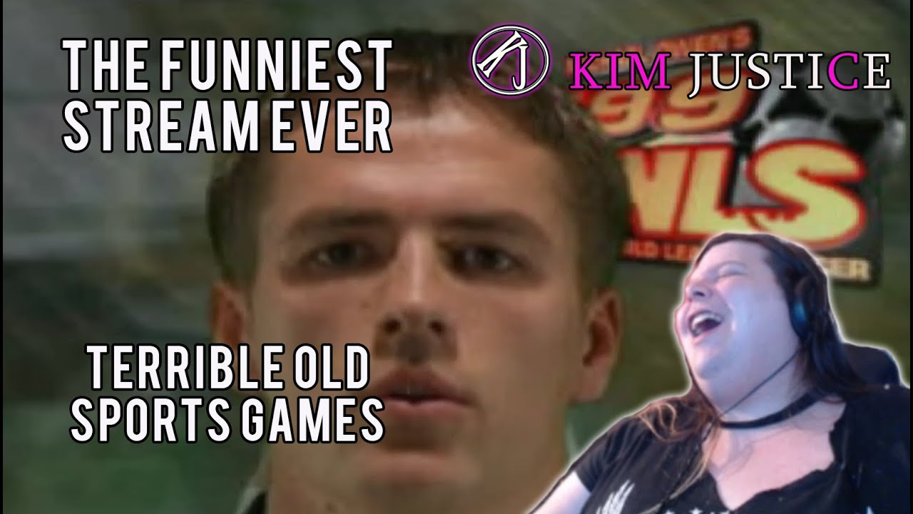 Terrible Old Sports Games = Funniest Stream Ever! (Twitch Highlights)