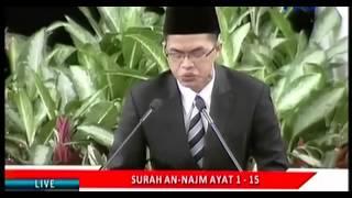Gambar cover Tilawah Al Quran Langgam Jawa - Peringatan Isra' Mi'raj Di Istana Negara - Konyolkah? MC-nya Keliru