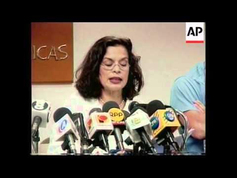 PERU: UPCOMING ELECTIONS: BIANCA JAGGER