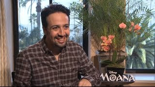 Moana: Lin-Manuel Miranda on Living His Disney Dream and Writing Music for The Rock