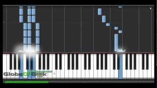 Naruto - TenTen Theme: Piano Tutorial(Synthesia)
