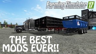MORE NEW MODS in Farming Simulator 2017 | Officially THE BEST TRAILERS EVER | PC Gaming
