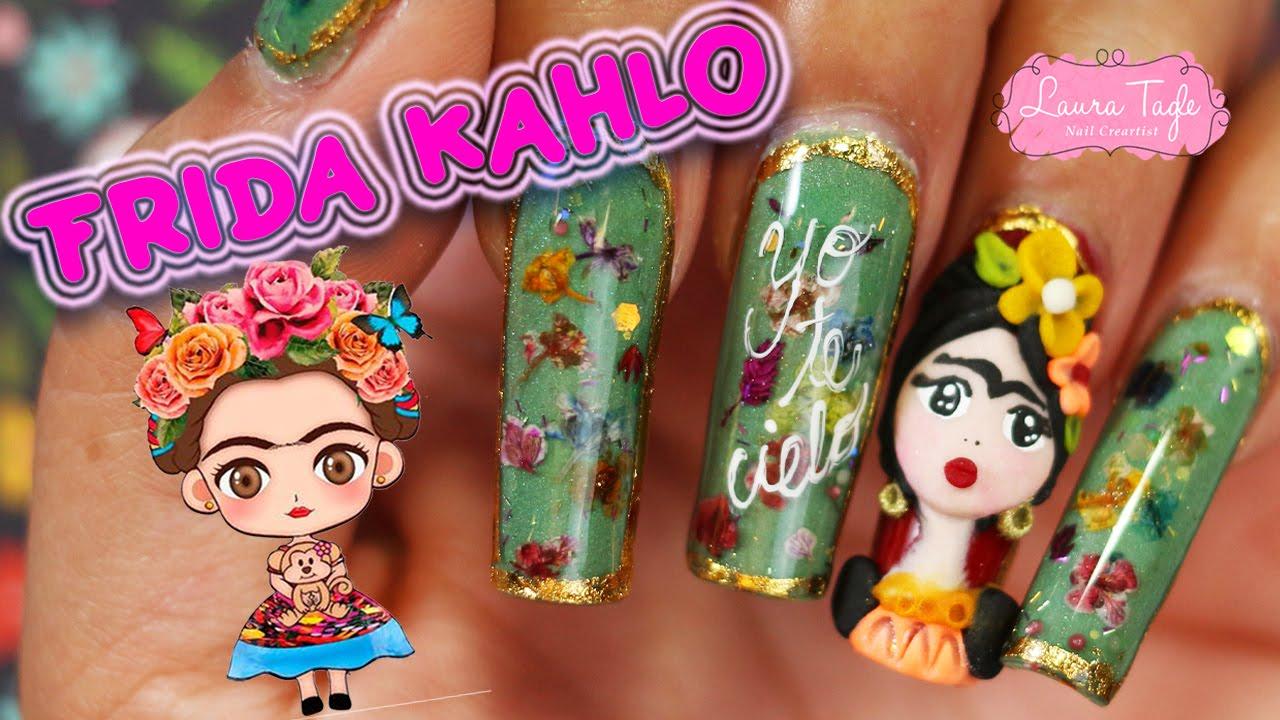Frida Kahlo Kawaii Para Colorear: Frida Kahlo En Caricatura Para Colorear