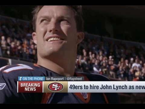 NFL Network: 49ers Hire John Lynch as New GM