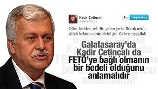 Hüseyin GÜLERCE   Galatasaray kongresinde FETÖ suikastı