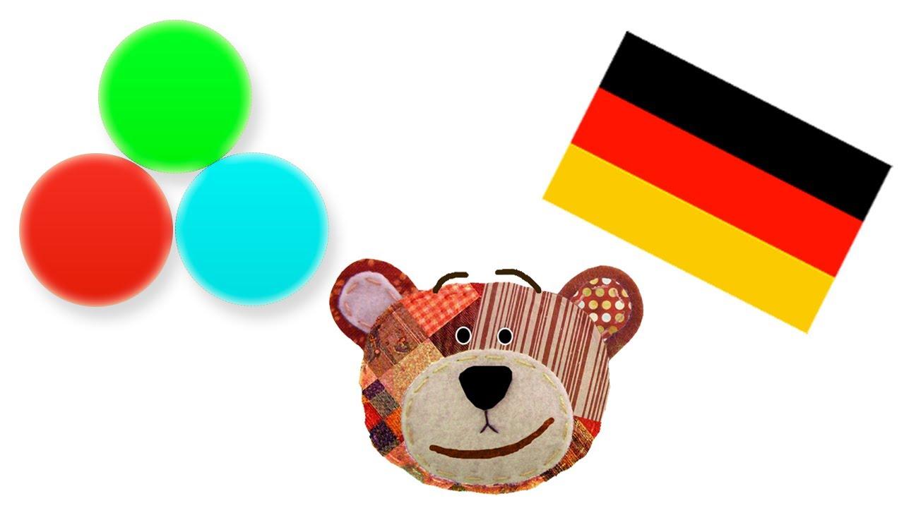 Apprendre Les Colours Avec Traposo En Allemand Youtube