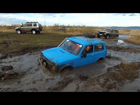 Nissan X-Trail решил потягаться с большими внедорожниками! (Patrol, Pajero, Нива, Патриот, Terrano)
