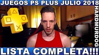 ¡¡¡JUEGOS PS PLUS JULIO 2018!!! - Hardmurdog - Noticias - Ps4 - Ps3 - Ps Vita - 2018 - Español