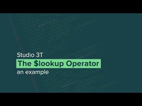 MongoDB $lookup Example | The MongoDB Aggregation Pipeline