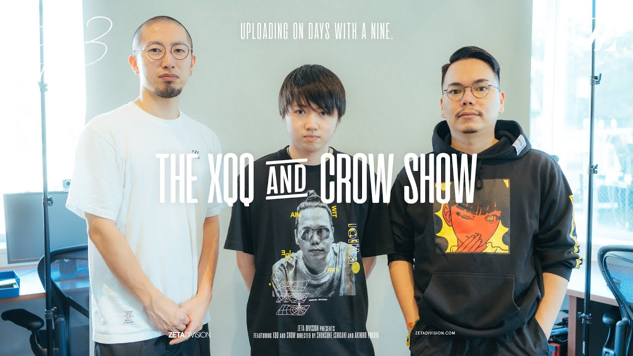 Ep13 // ゲスト: ZETA DIVISIONのデザイナー | THE XQQ AND CROW SHOW - PODCAST