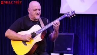 Danh thủ guitar FRANK GAMBALE biểu diễn tại Nhạc Việt - P1 Magritte