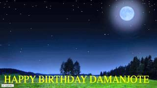 Damanjote  Moon La Luna - Happy Birthday