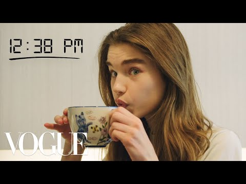 How Top Model Meghan Roche Gets Runway Ready | Diary Of A Model | Vogue