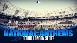 U.S. and British National Anthems performed by Kingdom Choir at London Series
