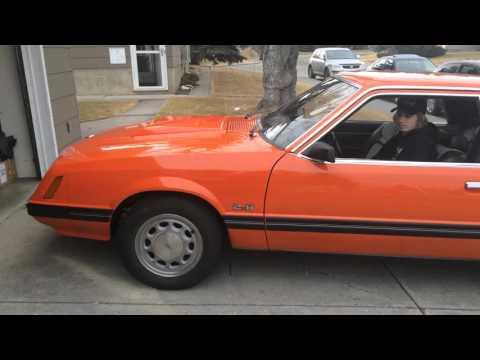 1979 Tangerine Mustang 2.8L V6