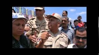 صور قناة السويس الجديدة: أول وفد شعبي يزور القناة الجبهة الشعبية لتنمية مصر