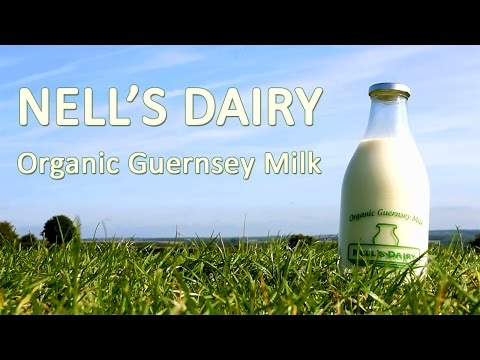 Nell's Dairy - Organic Guernsey Milk - Buy online or through a vending machine - Cotswolds