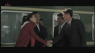 北朝鮮 「<朝中共同制作映画>平壌での約束 (평양에서의 약속)」 KCTV 2018/04/01 日本語字幕付き