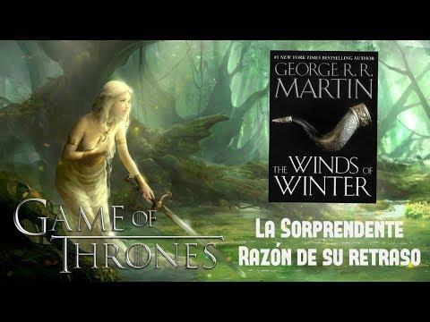 """la-sorprendente-razón-del-retraso-de-""""vientos-de-invierno""""-/-game-of-thrones"""